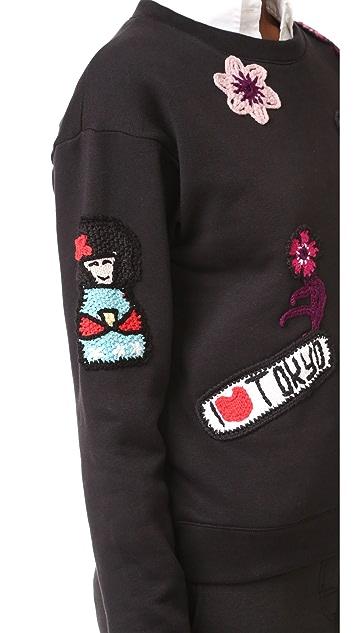 Michaela Buerger Tokyo Japan Sweatshirt