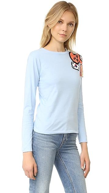 Michaela Buerger Seoul South Korea Long Sleeve T-Shirt