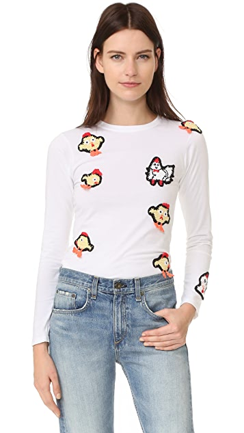 Michaela Buerger Chinese New Year Long Sleeve T-Shirt