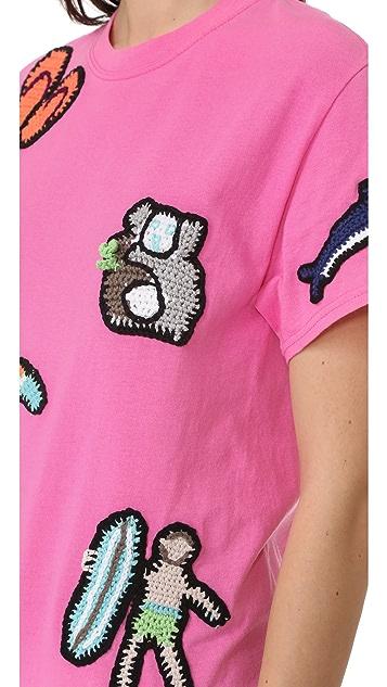 Michaela Buerger Australia Short Sleeve T-Shirt