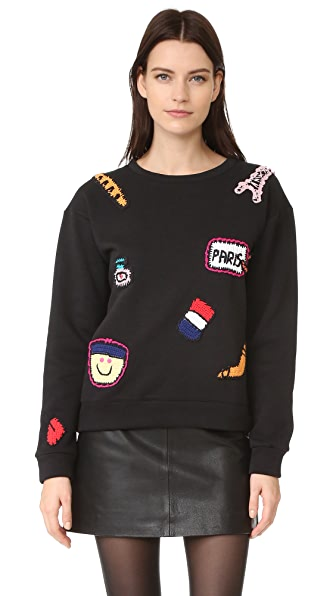 Michaela Buerger Paris Sweatshirt