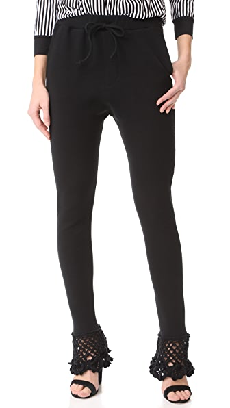 Michaela Buerger Jogging Pants In Black