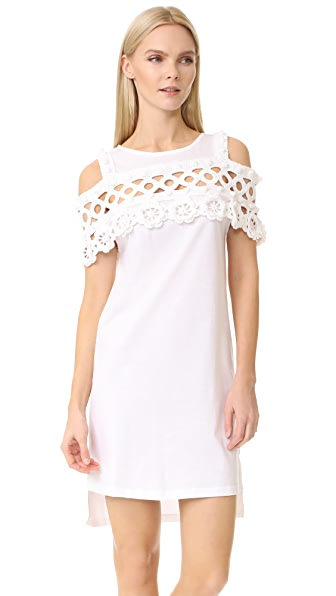 Michaela Buerger Oversized Dress - White
