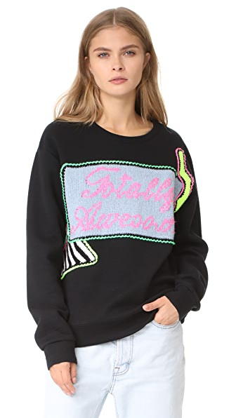 Michaela Buerger Totally Awesome Sweatshirt - Black
