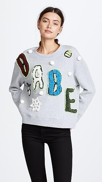Michaela Buerger Babe Oversize Sweatshirt