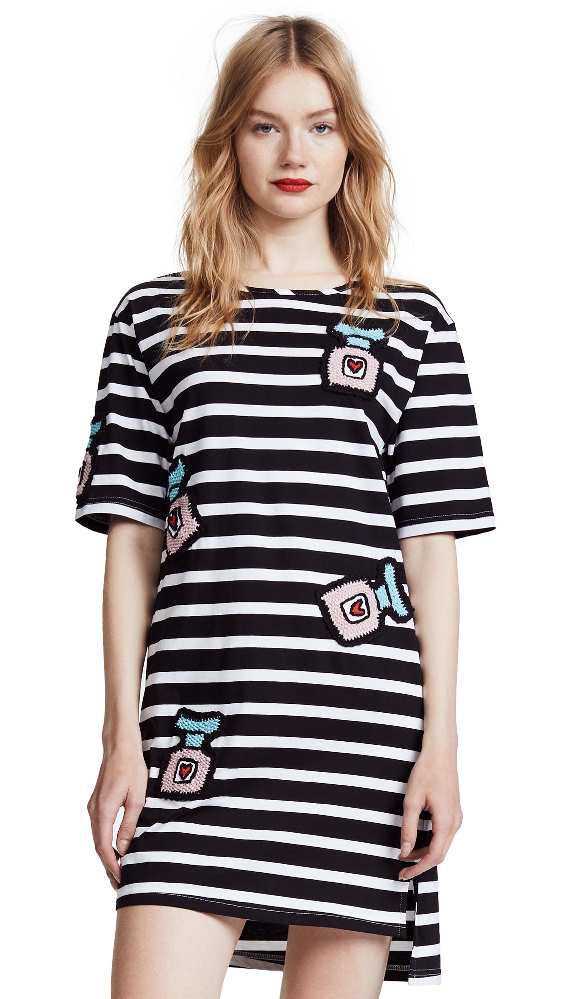 Michaela Buerger Oversize T-Shirt Dress - Black