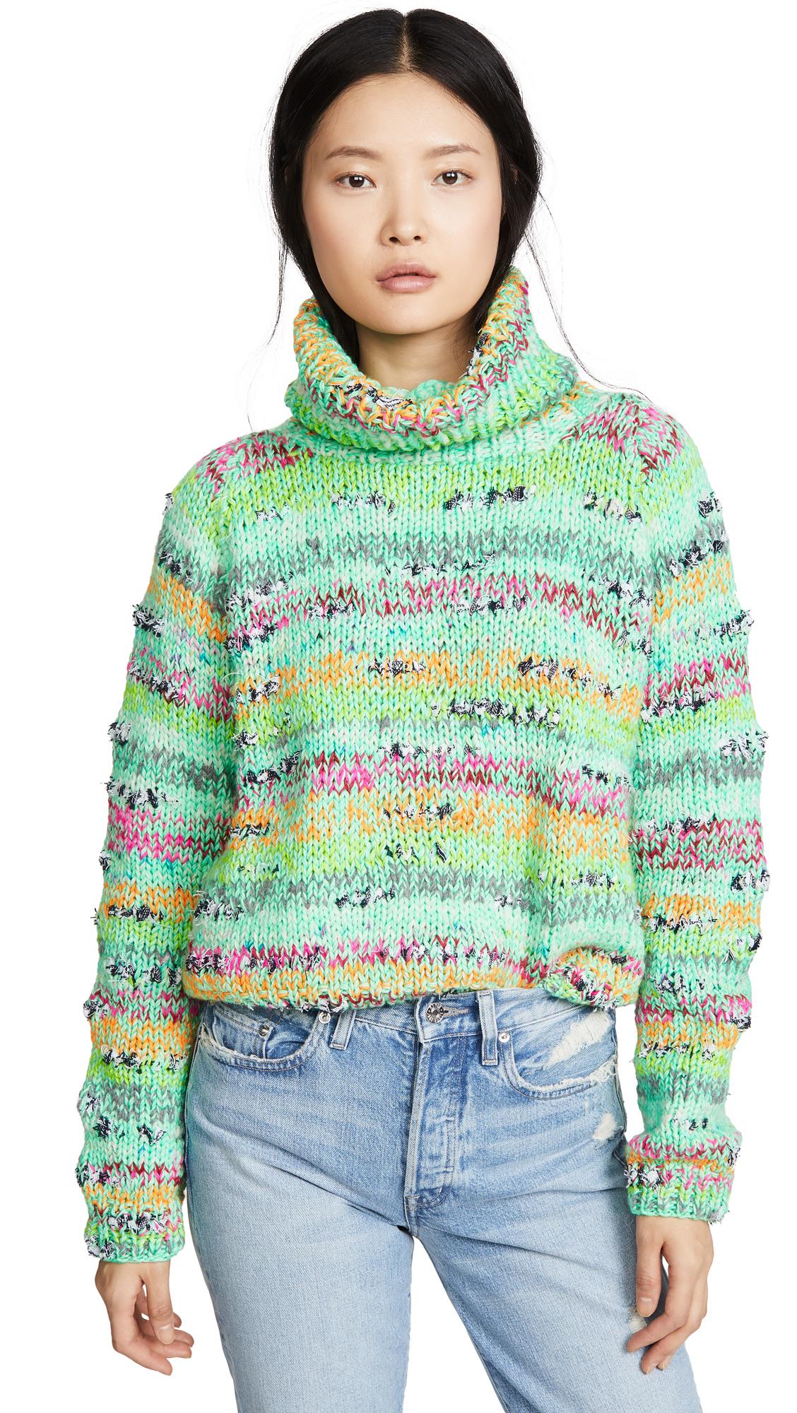 Buy Michaela Buerger online - photo of Michaela Buerger Cropped Rollback Sweater