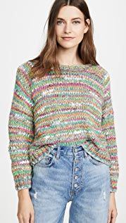 Michaela Buerger Cropped Alpaca Sweater