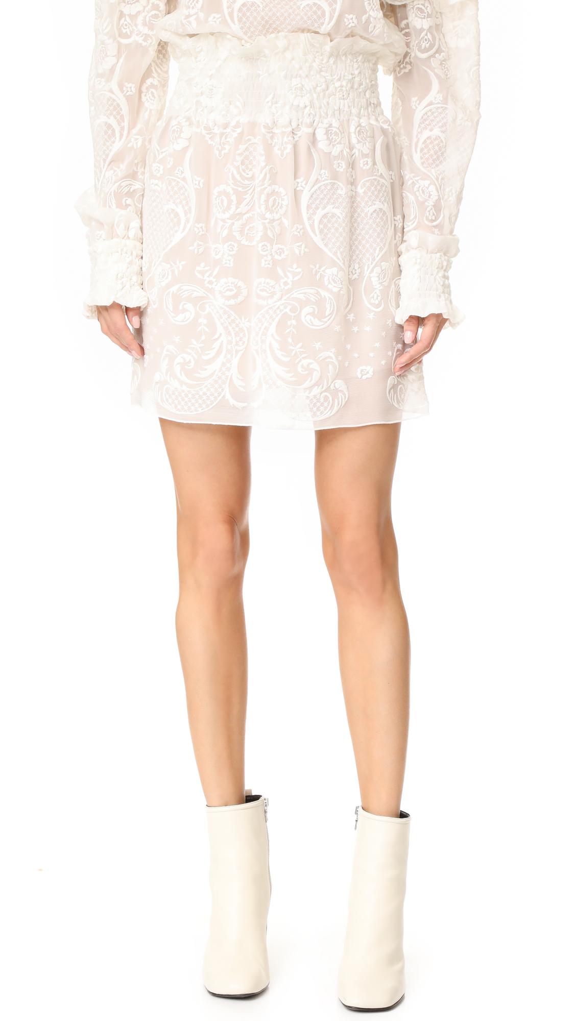 Magda Butrym Skirt - Cream