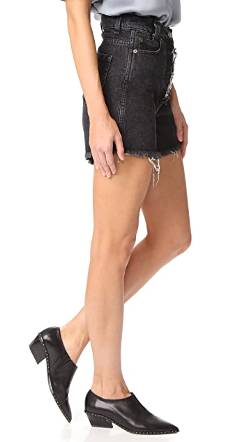 Magda Butrym Denim Shorts