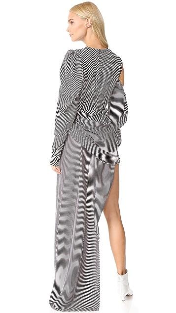 Magda Butrym Sevilla Striped Dress
