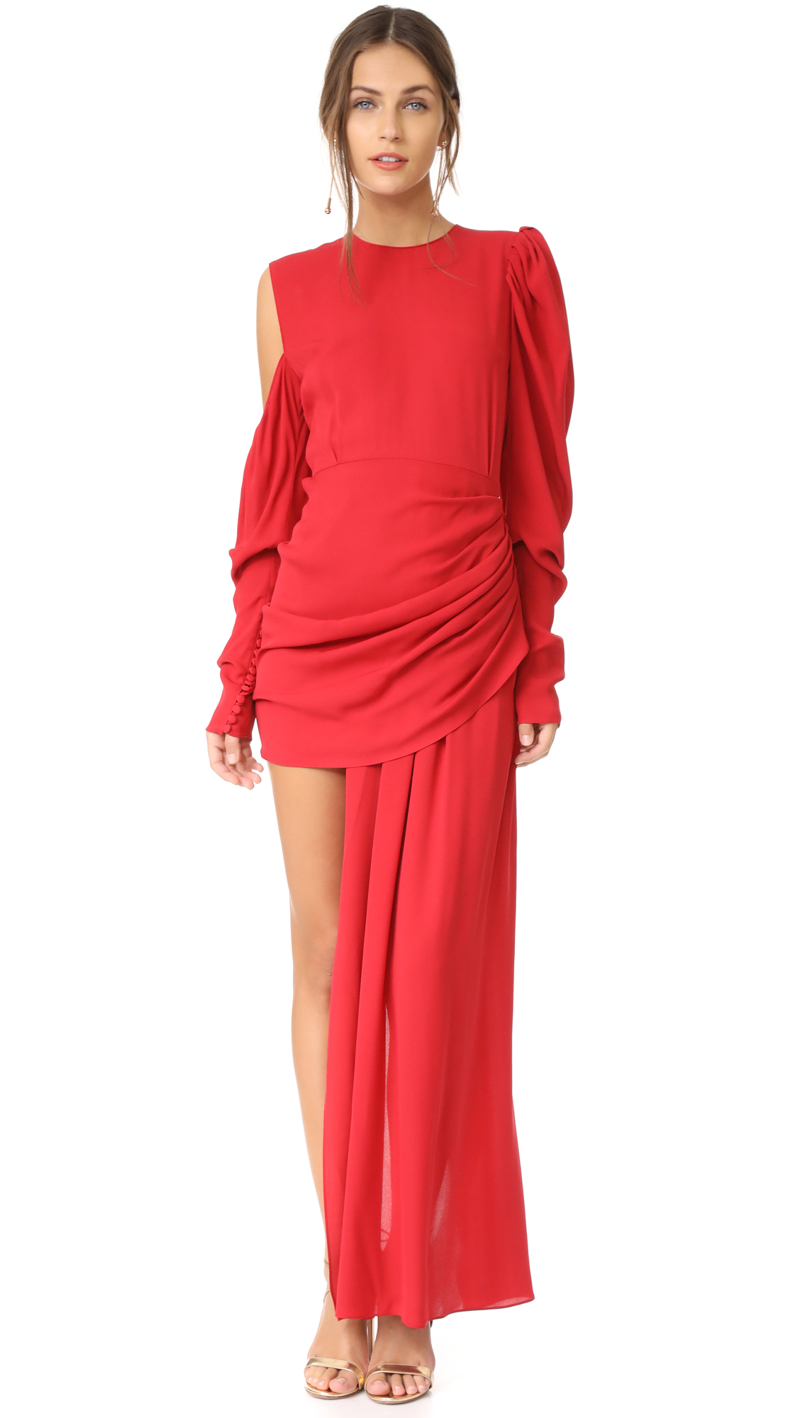 Magda Butrym Sevilla Dress - Red