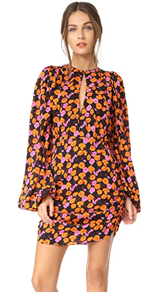 Magda Butrym udine printed dress