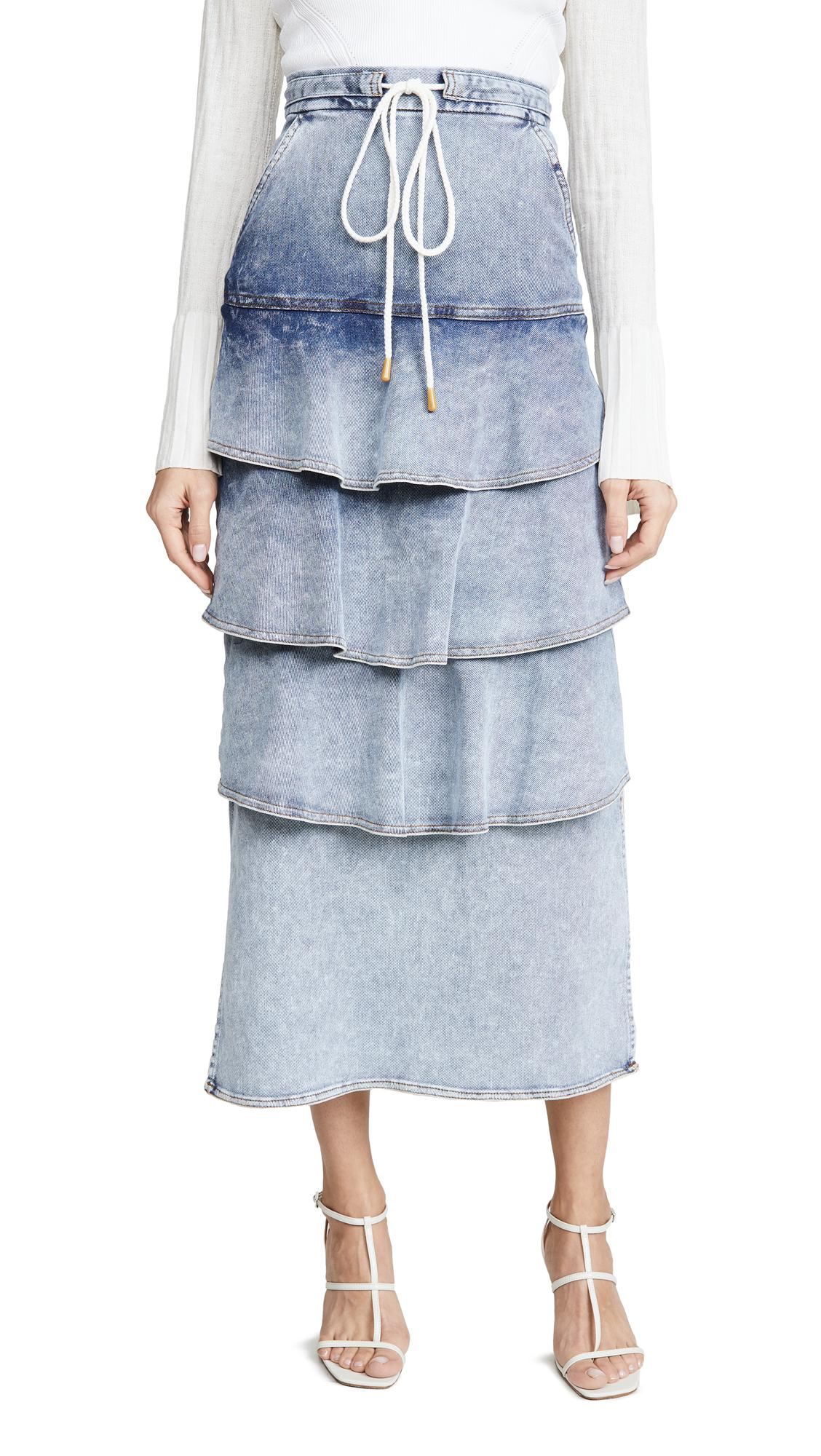 Buy Manning Cartell Australia online - photo of Manning Cartell Australia Bleach Treatment Denim Skirt