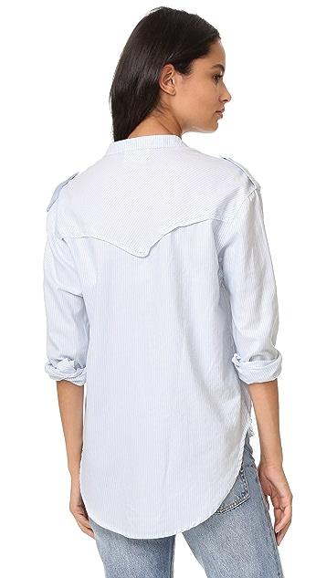 McGuire Denim Cushnie Striped Shirt