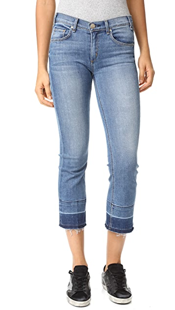 McGuire Denim Cropped Gainsbourg Jeans with Vintage Hem