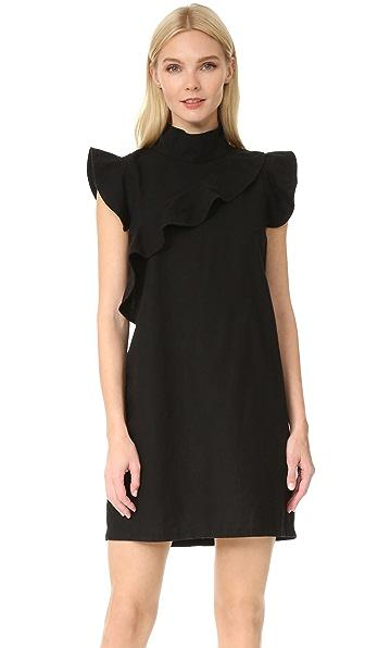 McGuire Denim Sorbonne Mini Dress - Barrett Black