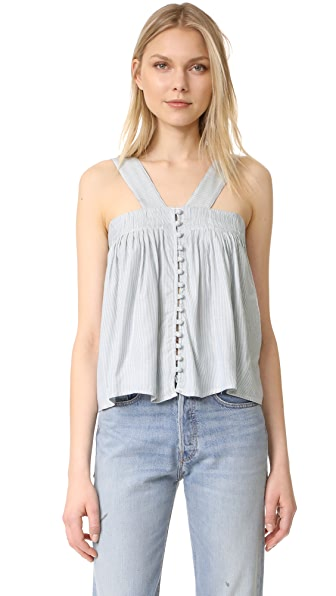 McGuire Denim Harper Tie Top In Montecito