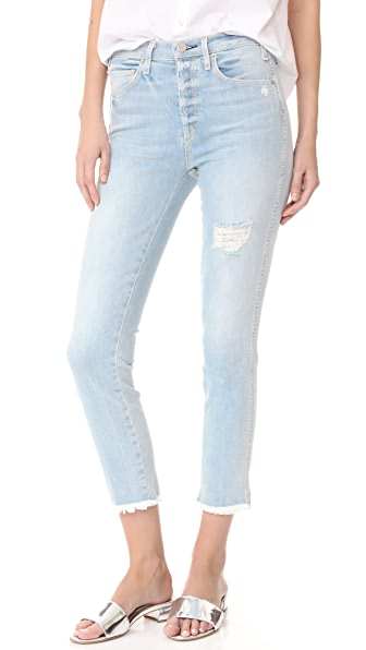 McGuire Denim High Waisted Vintage Slim Jeans - Beach Slang