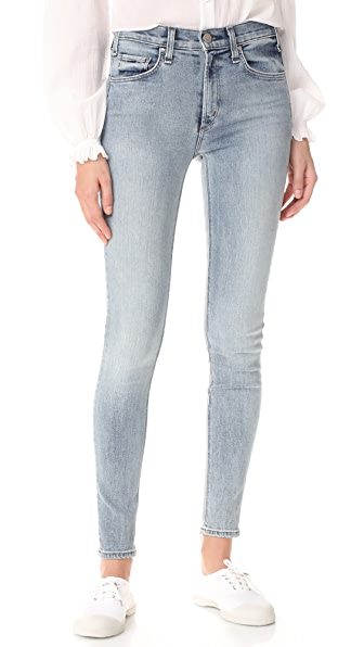 McGuire Denim Newton High Rise Skinny Jeans In 5 O'Clock Somewhere