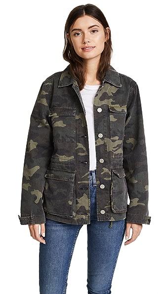 McGuire Denim California Dreaming Jacket In Camo