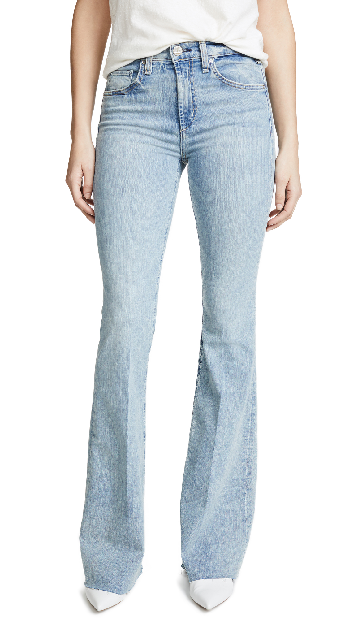 McGuire Denim Majorelle Flare In Starlight
