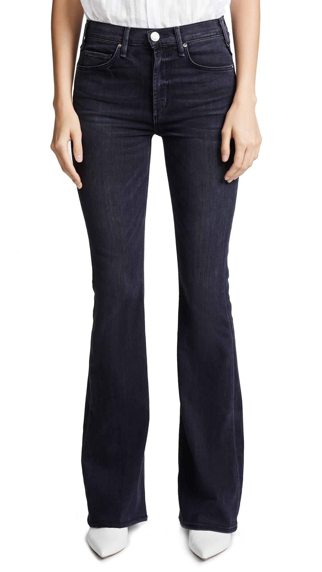 McGuire Denim Majorelle Flare Jeans In Ballerina Black