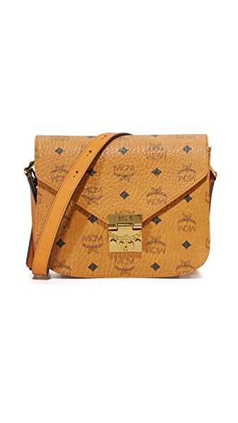 MCM Patricia Saddle Bag - Cognac