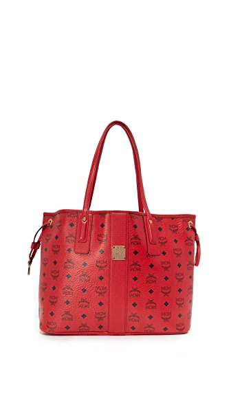 MCM Shopper Tote - Ruby Red