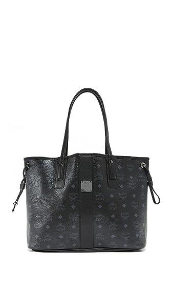 MCM Объемная сумка-шоппер с короткими ручками