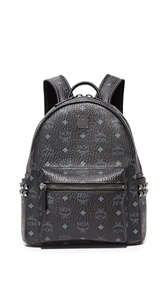 MCM Small Backpack - Black
