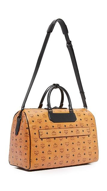 MCM Nomad Medium Weekender Bag