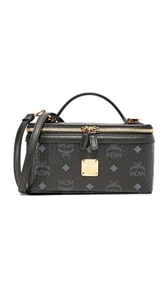 MCM Box Cross Body Bag - Black