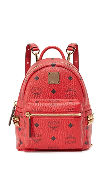 MCM Side Stud Baby Backpack