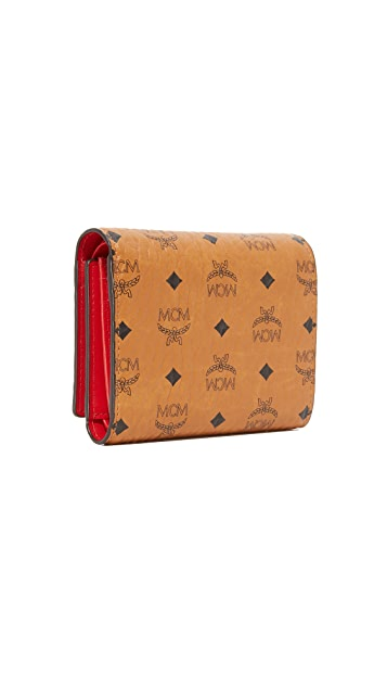 MCM Small Trifold Wallet