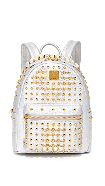 MCM Stark Pearl Stud Backpack at Shopbop
