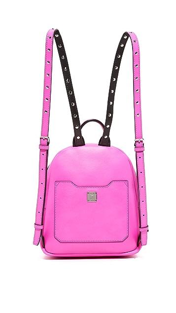 MCM Pokle Stud Backpack