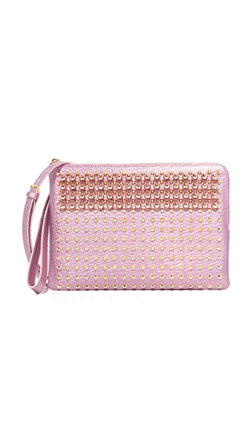 MCM Pouch with Shoulder Strap