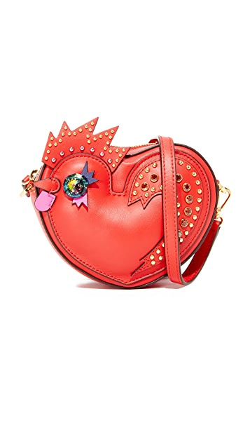MCM Rooster Heart Coin Case