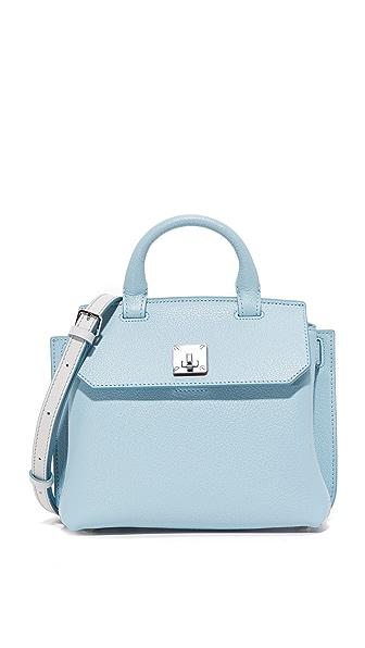 MCM Миниатюрная объемная сумка с короткими ручками Milla