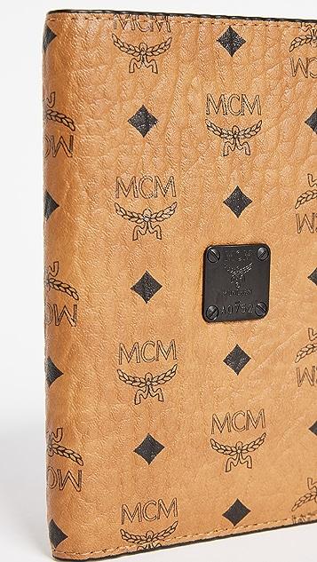 MCM Nomad Passport Case