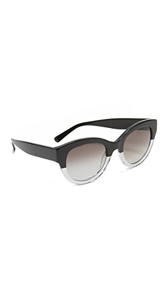 MCM Cat Eye Viestos Sunglasses - Black/Grey