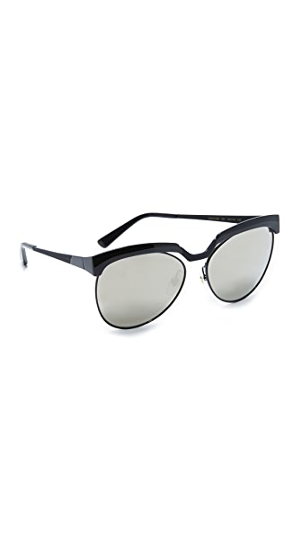 MCM Cutout Mirrored Sunglasses