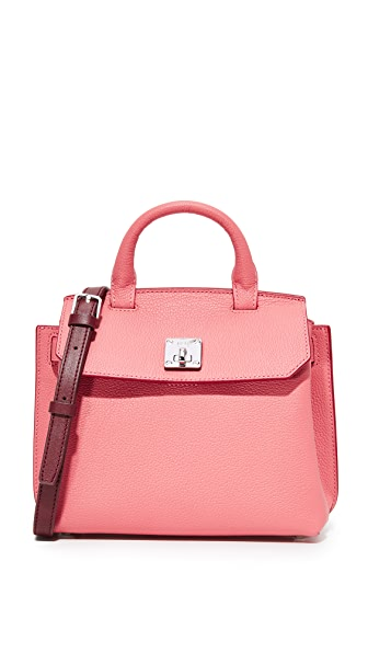 MCM Milla Cross Body Bag - Coral Blush