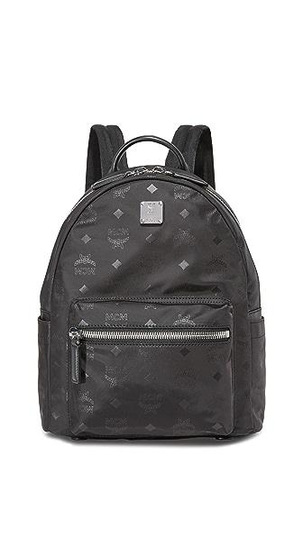MCM Nylon Backpack - Black