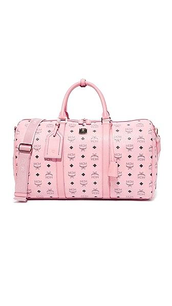 MCM Weekender Bag - Soft Pink