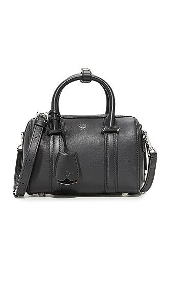 MCM Mini Boston Bag - Black
