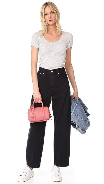 MCM Mini Boston Bag