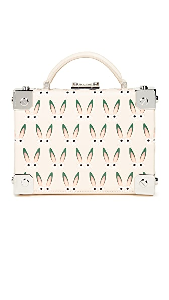 MCM Bunny Trunk Bag In Beige