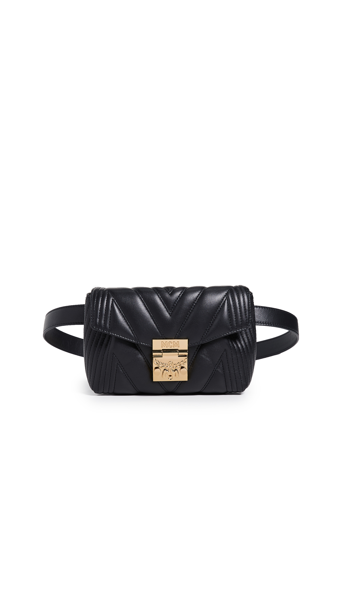 MCM PATRICIA QUILTED BELT BAG